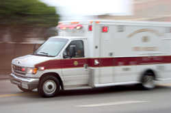 ambulance job injuries