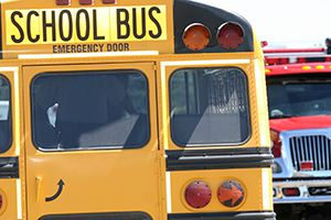 Know County school bus accident